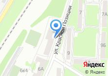 Компания «Кулинария на ул. Красной Позиции» на карте