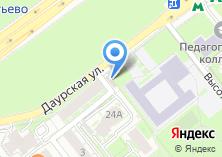Компания «Августина» на карте