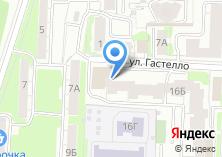 Компания «Гитарная школа Андрея Царёва» на карте