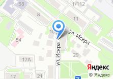 Компания «Шиномонтажная мастерская на ул. Искра» на карте