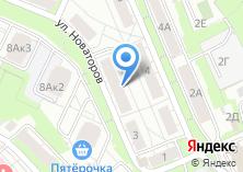 Компания «Парикмахерская на Новаторов» на карте