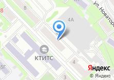 Компания «ГИДУВ» на карте