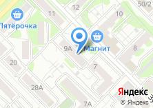 Компания «Наст» на карте