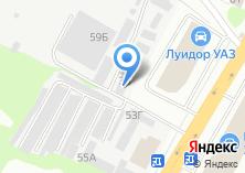 Компания «СтройГРАД снабжение» на карте