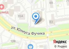 Компания «Шиномонтажная мастерская на ул. Юлиуса Фучика» на карте