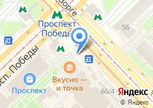 Компания «Билетти» на карте