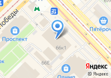 Компания «Восточное» на карте