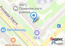 Компания «Запсибкомбанк» на карте