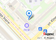 Компания «ИнтехБанк» на карте
