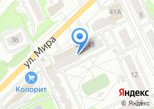 Компания «Мебелька» на карте