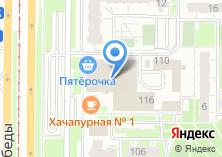 Компания «Магазин бижутерии на проспекте Победы» на карте