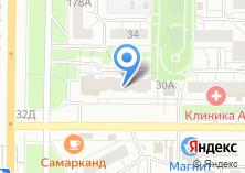 Компания «Самарканд» на карте