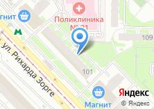 Компания «Мастерская по ремонту одежды на ул. Рихарда Зорге» на карте