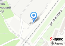 Компания «Металломаг» на карте