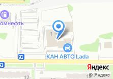 Компания «Азино Авто» на карте