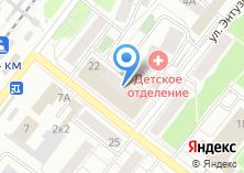 Компания «КБ ИнвестКапиталБанк» на карте