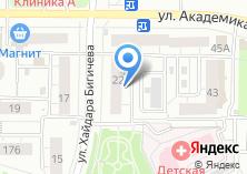Компания «Алия» на карте