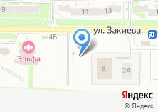 Компания «Автостоянка на Закиева» на карте