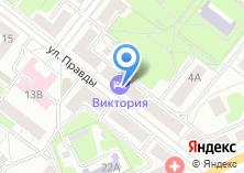 Компания «Отель на ул. Правды» на карте