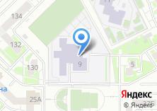 Компания «Средняя общеобразовательная школа №167 с углубленным изучением отдельных предметов» на карте