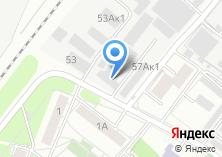 Компания «Камтент» на карте