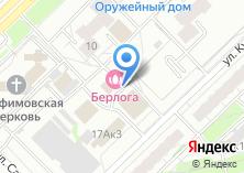 Компания «Пантерра» на карте