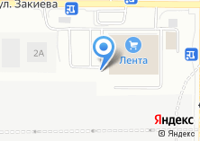 Компания «Азинский» на карте