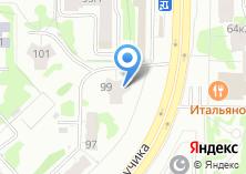 Компания «Эстетик Дент» на карте