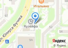 Компания «Ритуальные услуги» на карте