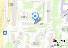 Компания «Мир сладостей» на карте