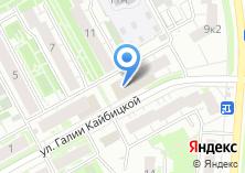 Компания «Копировальный центр на ул. Галии Кайбицкой» на карте
