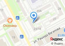 Компания «Продуктовый магазин на ул. Академика Глушко» на карте