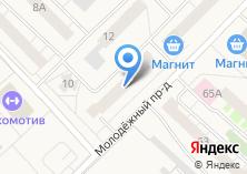 Компания «Здесь» на карте