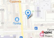 Компания «Паутинка» на карте