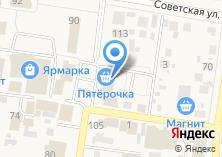 Компания «Пятерочка» на карте