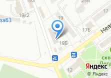 Компания «Центр дверей» на карте