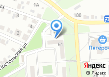 Компания «Туфелька» на карте