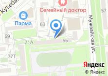 Компания «Хрустальные Туфельки» на карте