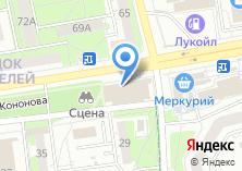Компания «Союзтехносервис» на карте