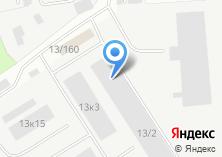 Компания «Уралкрепеж» на карте