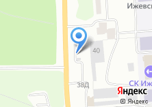 Компания «Песочная» на карте