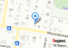 Компания «Московский экспресс» на карте