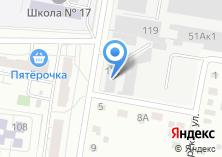 Компания «Мир Шин» на карте