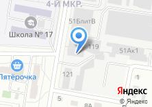 Компания «Ижевский Колледж Транспорта» на карте