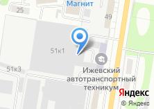 Компания «Мастер мебели» на карте