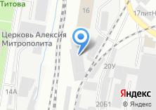 Компания «Стройинтерьер сеть магазинов строительных товаров» на карте