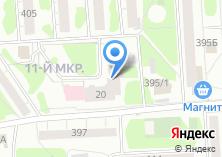 Компания «Sekret» на карте