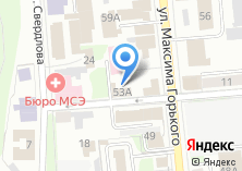 Компания «Контора» на карте