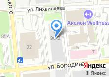Компания «Ютера» на карте
