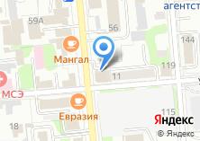 Компания «Комбин» на карте